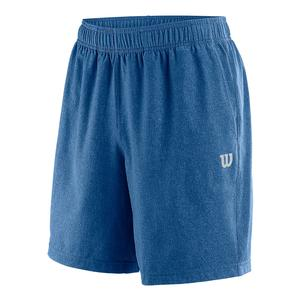 Men`s Condition 8 Inch Tennis Short Prince Blue
