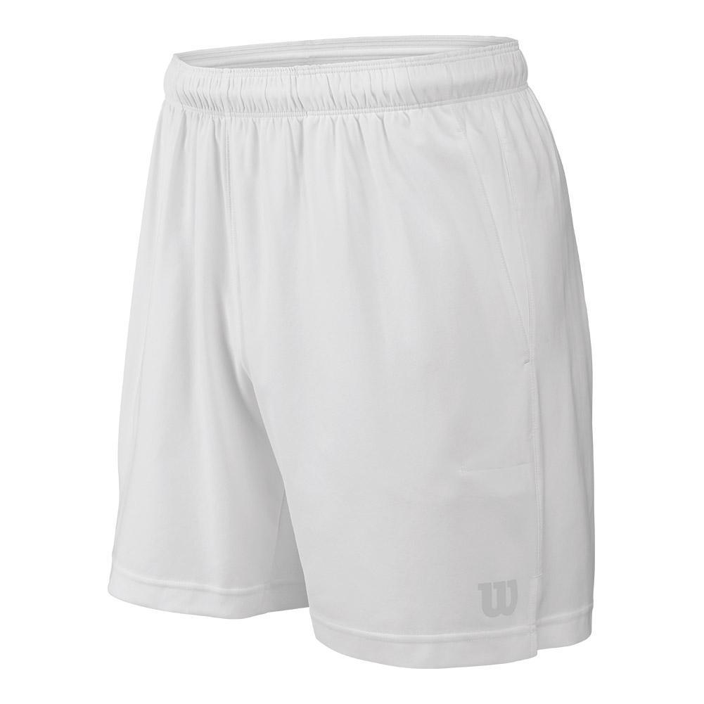 Men's Rush 7 Inch Woven Tennis Short White