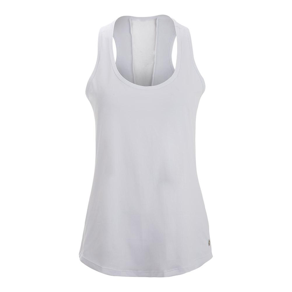 Women's Exotic Cover Up Tennis Top White