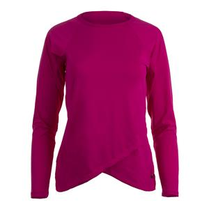 Women`s Spirit Long Sleeve Tennis Top Pink