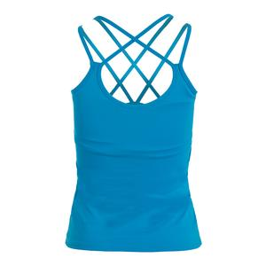 Women`s Sleek Tennis Tank Turquoise