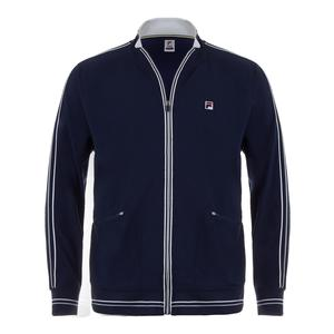 Men`s Legend Tennis Jacket Navy and White