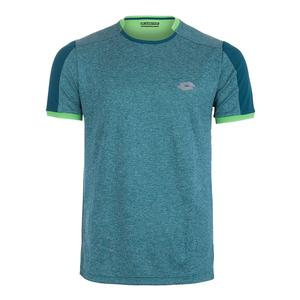 Men`s Dragon Tech II Tennis Tee Green Mel Dandy