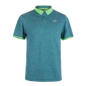 Men`s Dragon Tech II Tennis Polo Green Mel Dandy