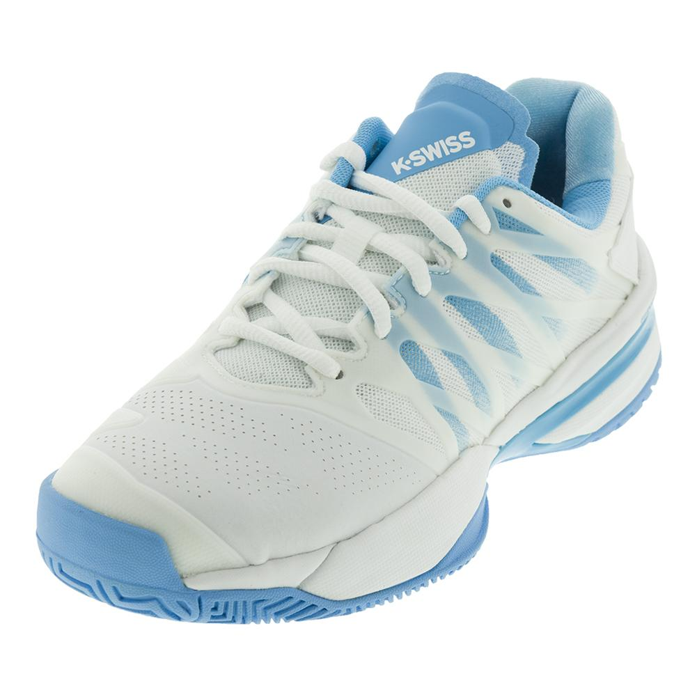 Women's Ultrashot Tennis Shoes White And Aquarius