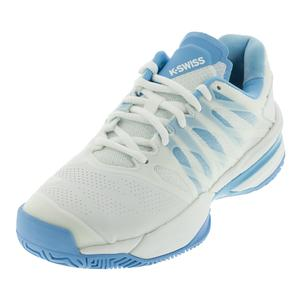 Women`s Ultrashot Tennis Shoes White and Aquarius