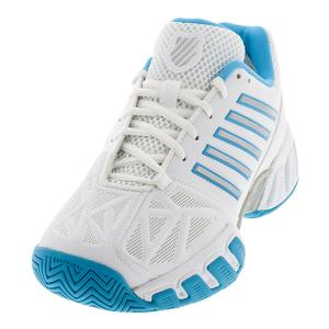 Women`s Bigshot Light 3 Tennis Shoes White and Aquarius