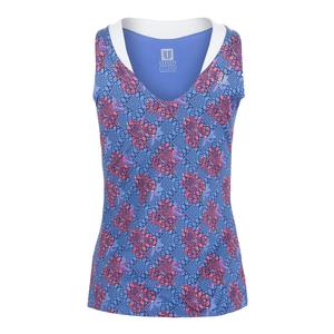 Women`s Love Tennis Tank Goddess Print