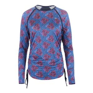 Women`s Tangle Long Sleeve Tennis Top Goddess Print