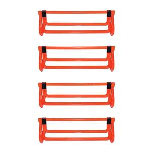 Adjust-A-Hurdle 4 Pack Bright Orange