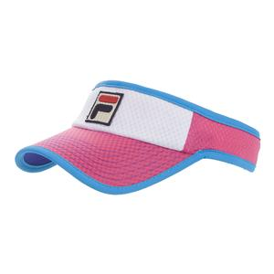 Women`s BNP Miami Open Tennis Cap Amparo Blue and Raspberry Rrose