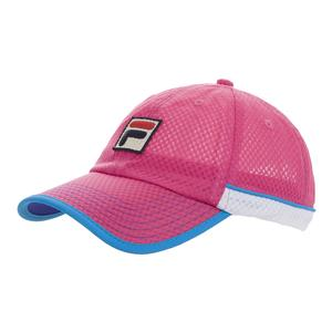 Women`s BNP Miami Open Tennis Cap Rrose and White