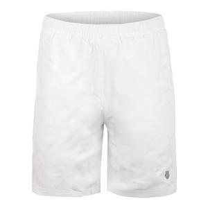 Men`s Challenger 9 Inch Tennis Short White