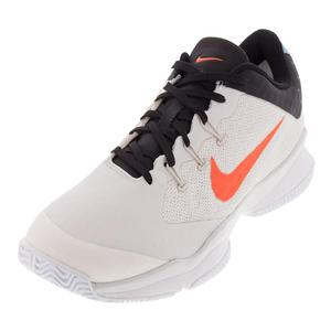 Juniors` Air Zoom Ultra Tennis Shoes Phantom and White