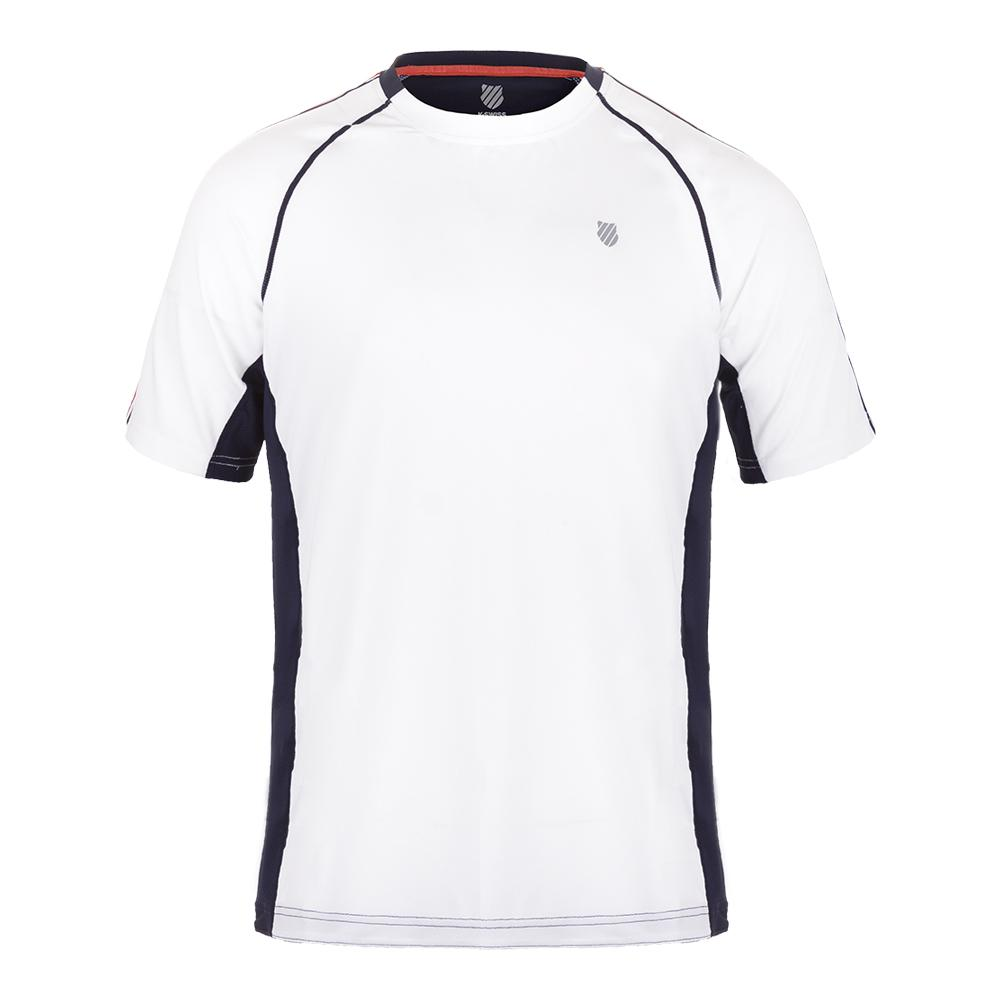 Men's Heritage Short Sleeve Tennis Tee White