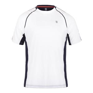 Men`s Heritage Short Sleeve Tennis Tee White