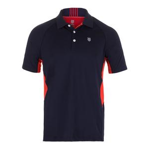 Men`s Heritage Tennis Polo Navy