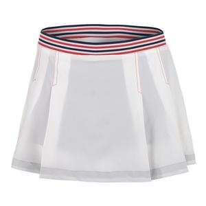 Women`s Heritage Tennis Skirt White