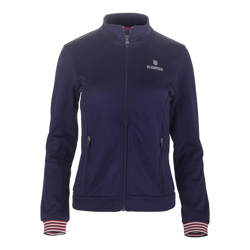 Women's Heritage Tracksuit Jacket Navy