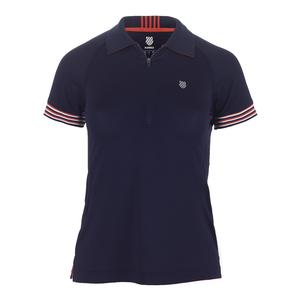 Women`s Heritage Tennis Polo Navy