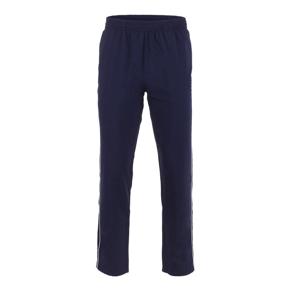 Men's Legend Tennis Pant Navy And White