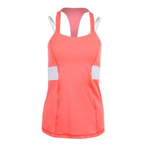 Women`s Lovely Halter Tennis Top Poppy