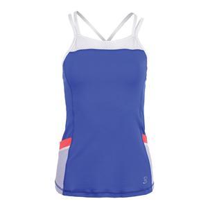 Women`s Pocket Tennis Cami Valley Blue