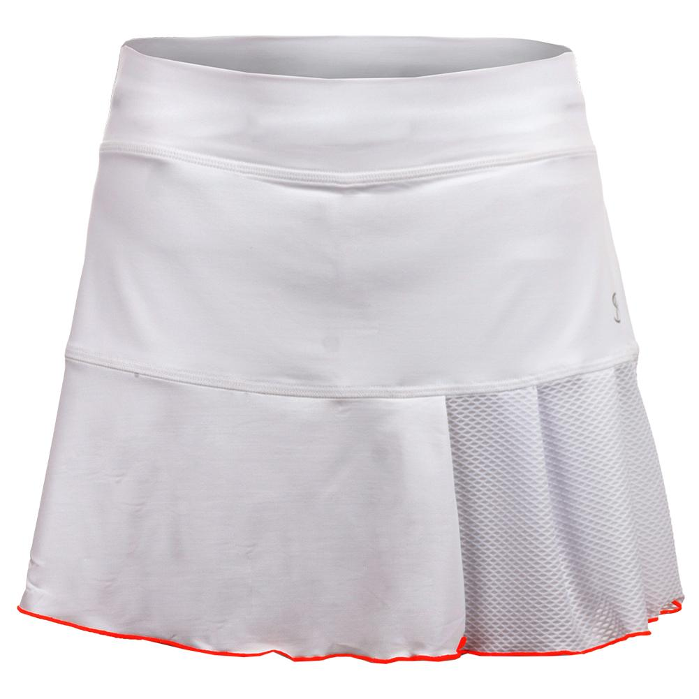Women's Circuit 14 Inch Tennis Skort White