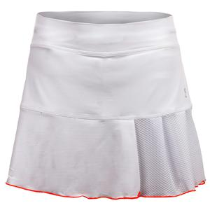 Women`s Circuit 14 Inch Tennis Skort White