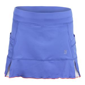 Women`s Kick 13 Inch Tennis Skort Valley Blue