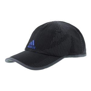 Men`s Superlite Prime Tennis Cap Black and Collegiate Royal