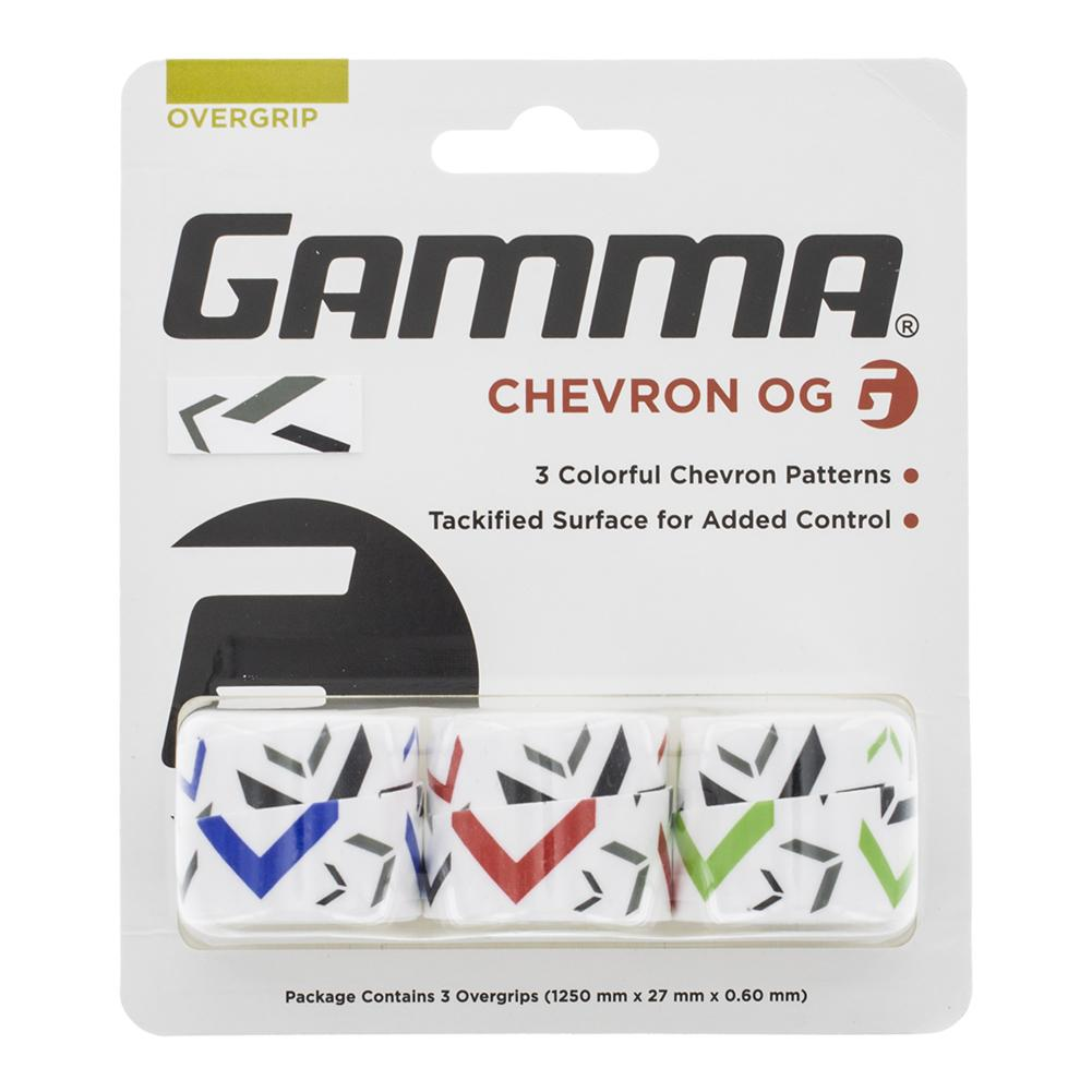 Chevron Tennis Overgrip 3 Pack