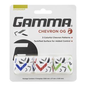 Chevron Tennis Overgrip 3 Pack