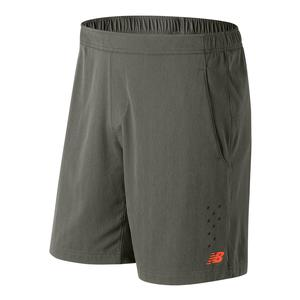 Men`s Tournament 9 Inch Tennis Short Military Foliage Green