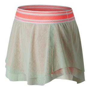 Women`s Tournament Tennis Skort Seafoam and Fiji