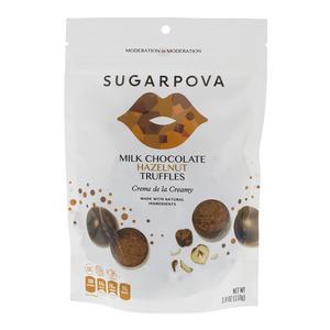 Milk Chocolate Hazelnut Truffles