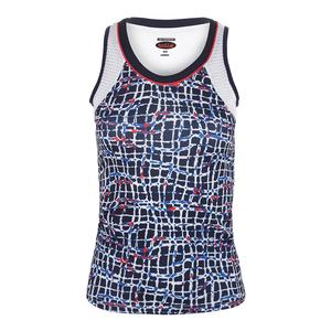 Women`s Palermo Graphic Tennis Tank
