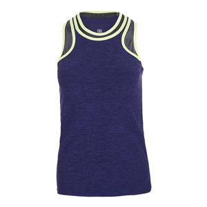 Women`s Dayton Tennis Tank Twilight Space Dye