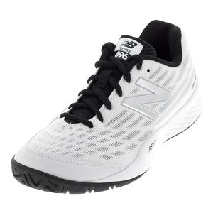 Women`s 896v2 B Width Tennis Shoes White and Pigment