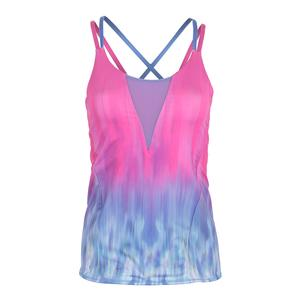 Women`s Orchid Tennis Cami Pinkberry