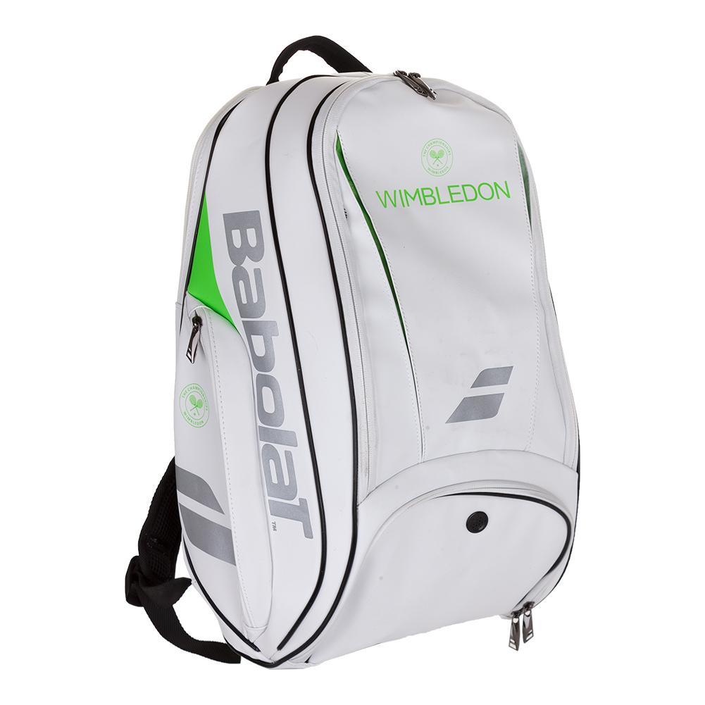 Pure Wimbledon Tennis Backpack White