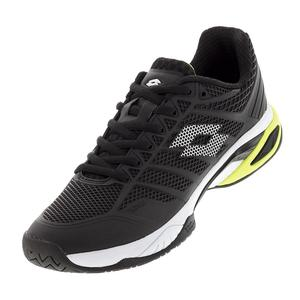 Men`s Viper Ultra IV Speed Tennis Shoes Black and White