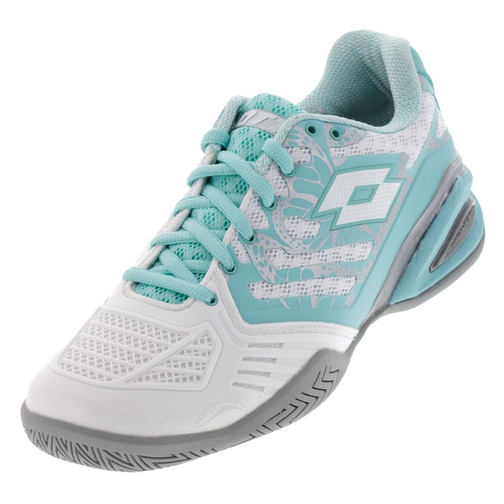 Women's Ultrasphere All- Round Tennis Shoes White And Green Thai