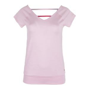 Women`s V-Back Tennis Top Light Pink