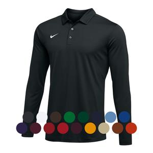 MENS TEAM LONG SLEEVE POLO