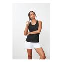 Women`s Core Printed Racerback Tank 001_BLACK