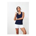 Women`s Core Printed Racerback Tank 412_NAVY