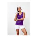 Women`s Core Printed Racerback Tank 500_PURPLE
