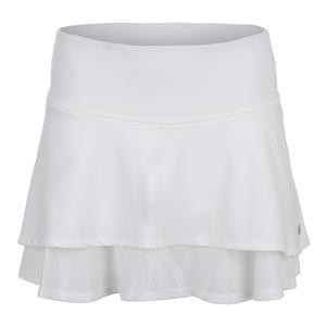 Women`s Laser Tennis Skort White