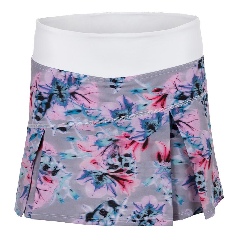 Women's Topspin Tennis Skort Xray Floral